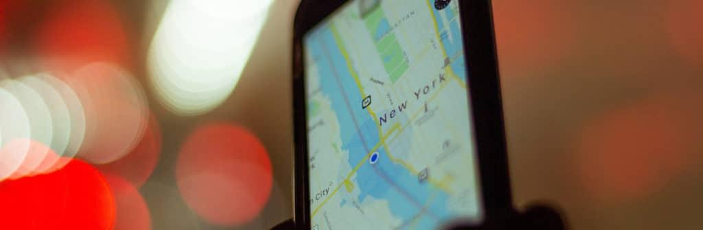 mobile géolocalisation googlemap