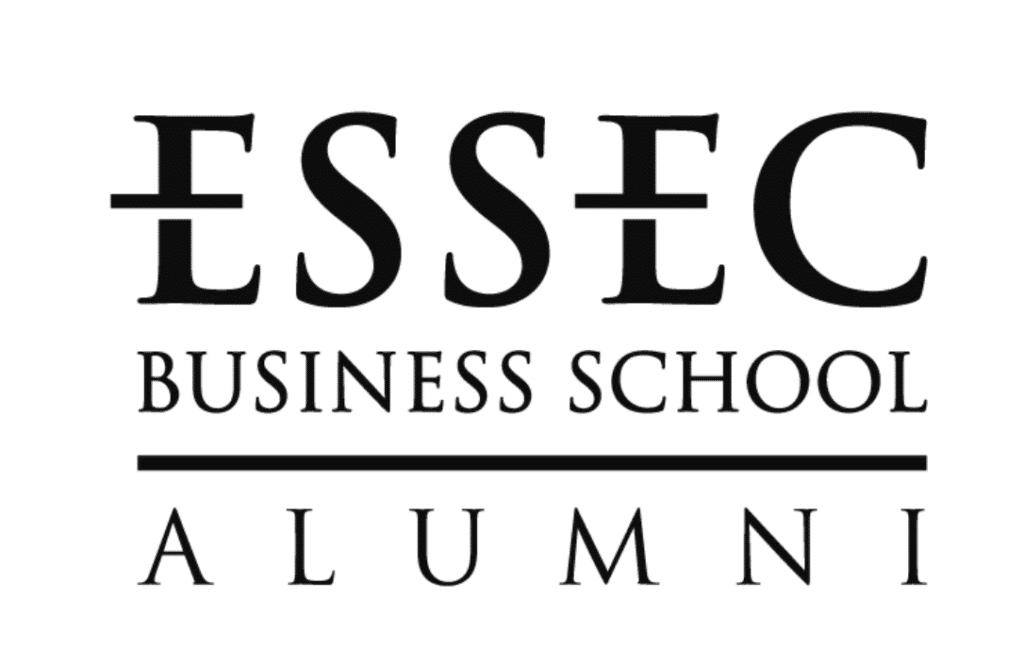 Logo Essec Alumni référence Searchbooster Agence Digitale