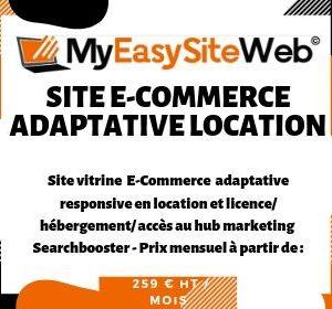 Site E-commerce Template Adaptative Design