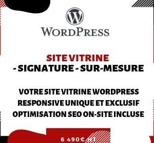 SITE VITRINE PRO WordPress