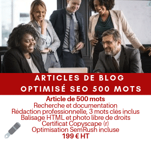 Article optimisé SEO 500 mots