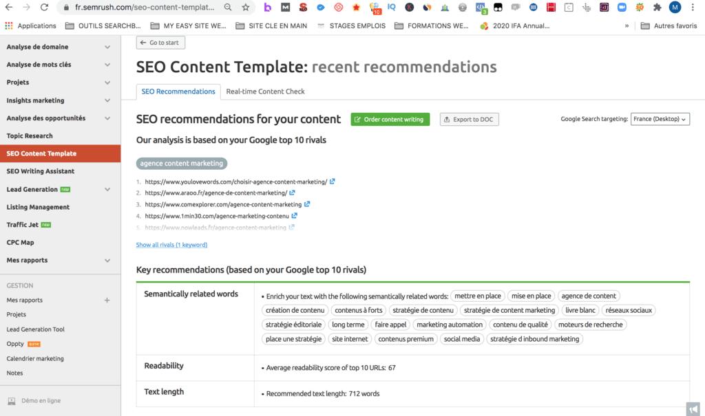 content marketing management par Searchbooster
