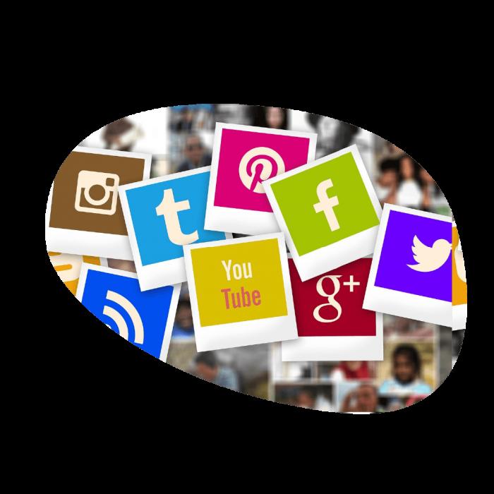 réseaux sociaux by Searchbooster